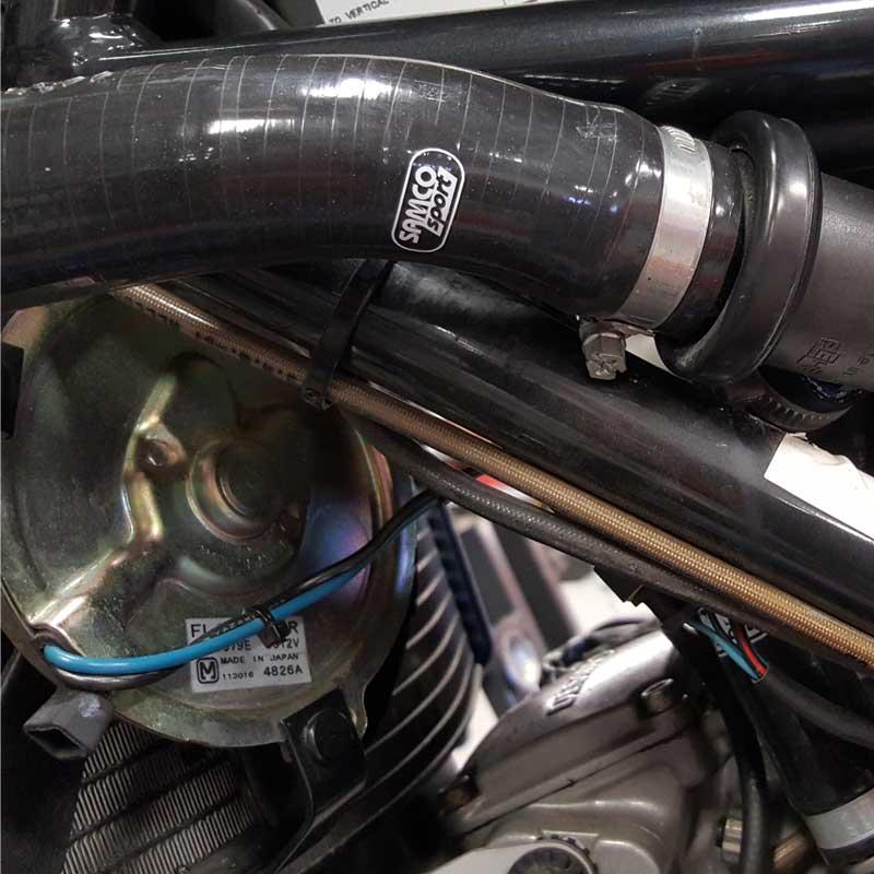 DUC-15 fit Ducati ST3 S 2004-2007 Samco Silicon Rad Hoses /& SAMCO Clips