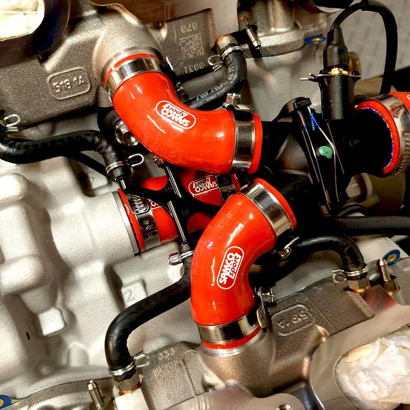 Ducati 1103 Panigale V4 S 2018-2020 8 Pièce Samco Sport Kit Flexible