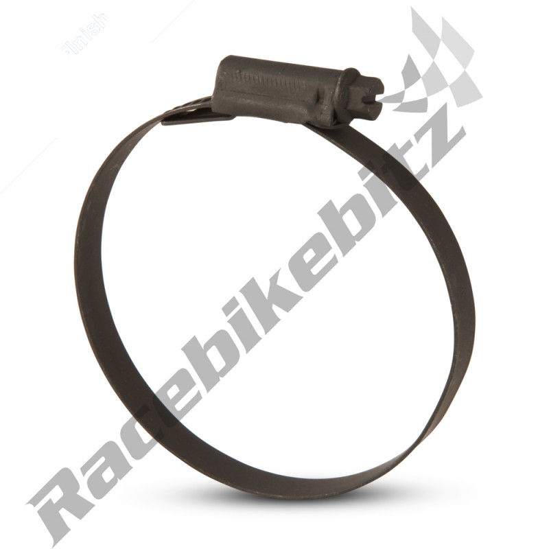 W3 Black Stainless Steel Mikalor Worm Drive Hose Clamp