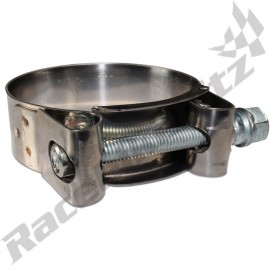 DUCATI MOTORCYCLE W2 STAINLESS EXHAUST CLAMP CHOOSE YOUR SIZE