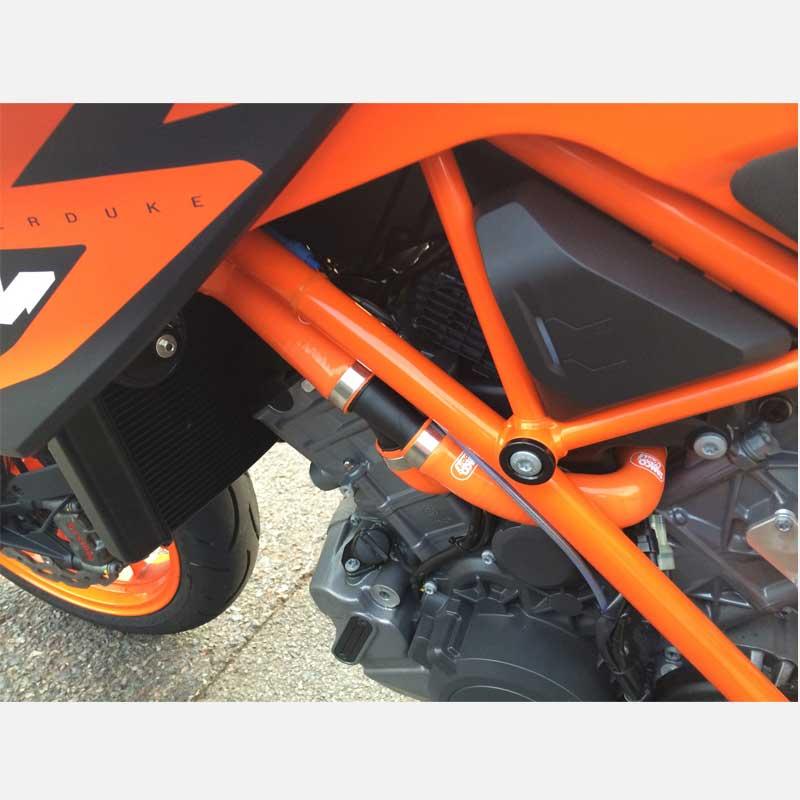 KTM-63 fit KTM 1290 Super Duke R   ** OEM Design ** 2013-2019 Samco Hoses+Clips